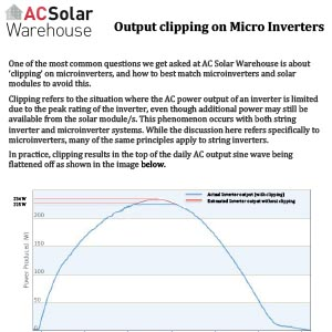 Output clipping on microinverters-PREVIEW