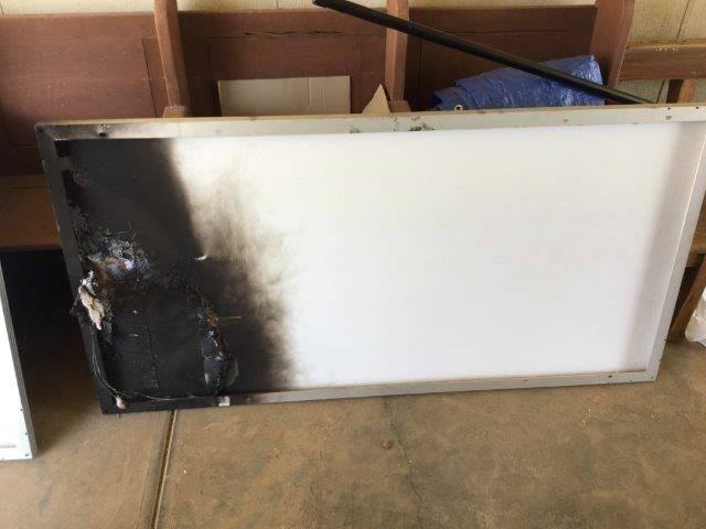 Burnt Solar Module 3