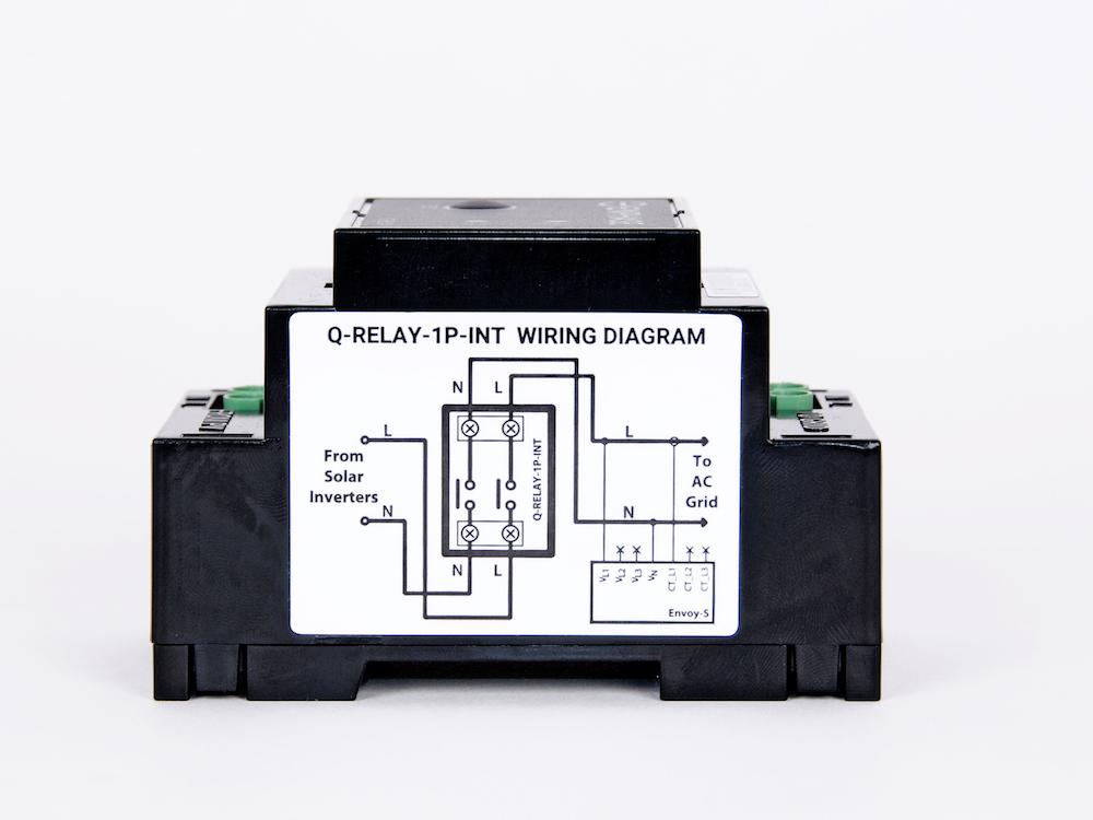 Amazing Enphase Q Relay Single Phase Ac Solar Warehouse Wiring 101 Vieworaxxcnl