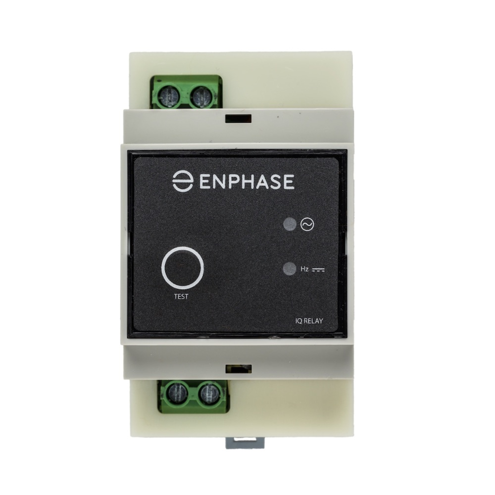 Enphase Q Relay Single Phase Ac Solar Warehouse Microinverter Panel System Design Electronic Products